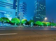 La vista di notte Immagine Stock