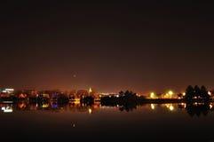 La vista di notte di Pechino Fotografia Stock Libera da Diritti