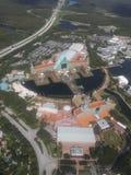 La vista di Orlando dall'elicottero immagine stock