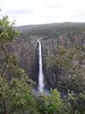 La vista di Wallaman cade nel Queensland Australia dal punto di vista Immagine Stock