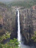 La vista di Wallaman cade nel Queensland Australia dal punto di vista Immagini Stock