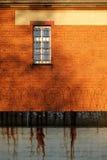 La vista esterna di vecchia prigione Immagini Stock Libere da Diritti