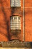 La vista esterna di vecchia prigione Immagini Stock
