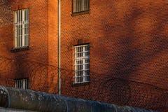 La vista esterna di vecchia prigione Fotografie Stock Libere da Diritti