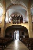 La vista generale della chiesa Immagini Stock