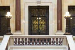 La vista interior del capitolio del estado de Wisconsin en Madison Imagen de archivo