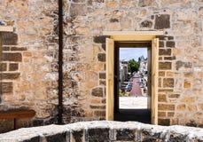 La vista rotonda della Camera alla via principale: Fremantle, Australia occidentale Fotografia Stock Libera da Diritti