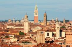 La vista sopra Venezia Fotografie Stock Libere da Diritti