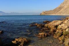 La vista sul mare. Fotografia Stock Libera da Diritti
