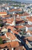 La vista superior de Bratislava Imagenes de archivo