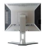 La visualización del LCD detrás ve Imágenes de archivo libres de regalías