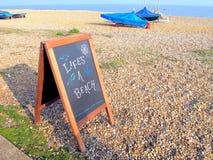 La vita è una spiaggia Immagini Stock Libere da Diritti