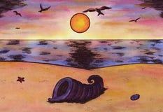 La vita è una spiaggia (Zen Pictures, 2011) Fotografia Stock Libera da Diritti