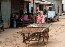 La vita cambogiana Fotografia Stock Libera da Diritti