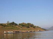 La vita del Mekong fotografia stock libera da diritti
