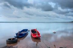 La vita del pescatore della Tailandia fotografie stock libere da diritti