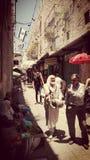 la vita in Palestina Fotografia Stock Libera da Diritti