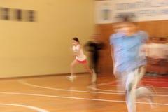 La vitesse de l'athlète photographie stock