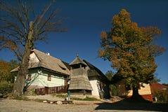 la Vlkolinec-Slovaquie Images libres de droits