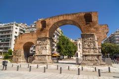 La voûte de Galerius à Salonique, Grèce image libre de droits