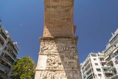 La voûte de Galerius à Salonique, Grèce images libres de droits