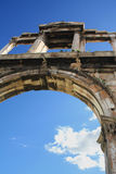 La voûte de Hadrian, Athènes (Grèce) Photo stock