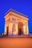 La voûte triomphale, Paris Photographie stock libre de droits
