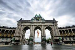 La voûte triomphale à Bruxelles Image stock