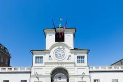 La voie de base à Royal Palace de Venaria, inclus dans l'ONU images libres de droits
