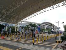 La voie de base pour la société de BYD dans la ville de Shenzhen photo libre de droits