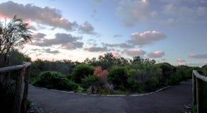 La voie de marche de Fairfax Image stock