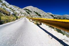 La voie de montagne dans Bikovo Image libre de droits