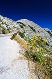 La voie de montagne dans Bikovo Photos stock