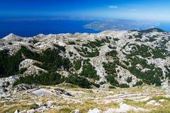 La voie de montagne dans Bikovo Images libres de droits