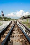 La voie expédient le chemin de fer Image libre de droits