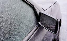 La voiture dans le froid Photos stock
