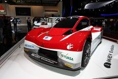 La voiture de concept d'évolution de Mitsubishi MiEV Images stock