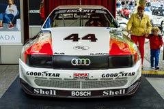 La voiture de course Audi 200 Quattro Transport-suis, 1988 Photographie stock libre de droits