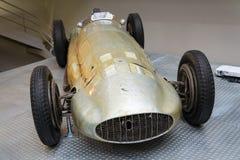 La voiture de course de Mercedes-Benz W154 Grand prix a conçu par Rudolf Uhlenhaut Photos stock