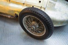 La voiture de course de Mercedes-Benz W154 Grand prix a conçu par Rudolf Uhlenhaut Image libre de droits