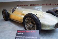 La voiture de course de Mercedes-Benz W154 Grand prix a conçu par Rudolf Uhlenhaut Photos libres de droits