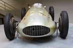 La voiture de course de Mercedes-Benz W154 Grand prix a conçu par Rudolf Uhlenhaut Images libres de droits