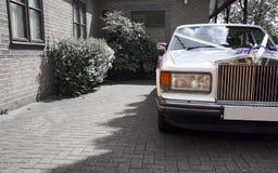 La voiture de mariage Image stock