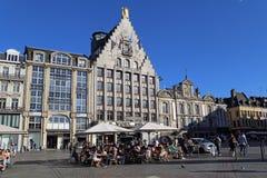 La Voix du Nord à Lille, France Photographie stock