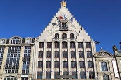 La Voix du Nord i Lille, Frankrike Arkivfoto