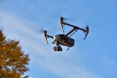 La volata grande parla monotonamente il fondo del cielo blu Fotografia Stock Libera da Diritti