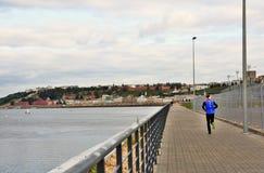 La Volga, la rivière d'Oka et Kremlin dans Nijni-Novgorod, Russie photos libres de droits