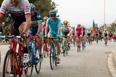 La volta a catalunya 2016 cyclists Stock Photos
