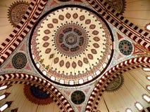 La volta della moschea 5 di Bayezid II Fotografie Stock Libere da Diritti