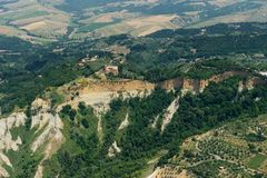 La Volterra-Pise-Italie photos libres de droits